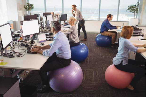 Should You Replace Your Office Chair With An Exercise Ball
