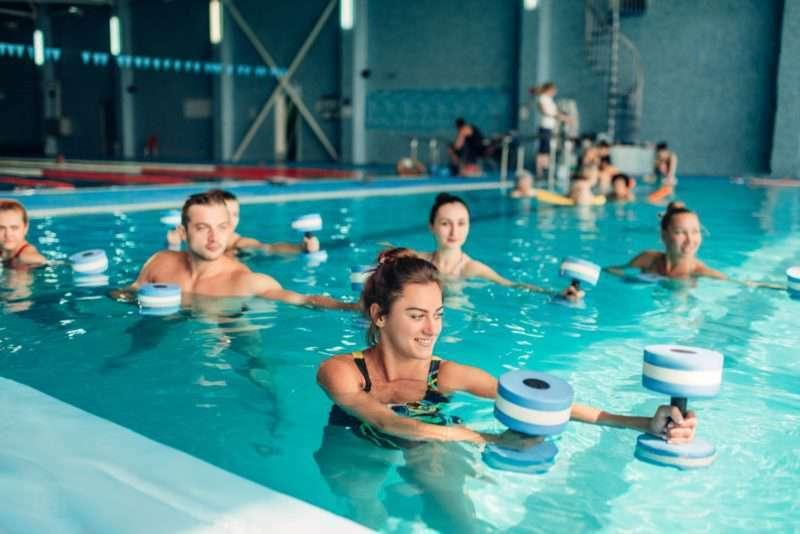 Trifocus fitness academy - water aerobics