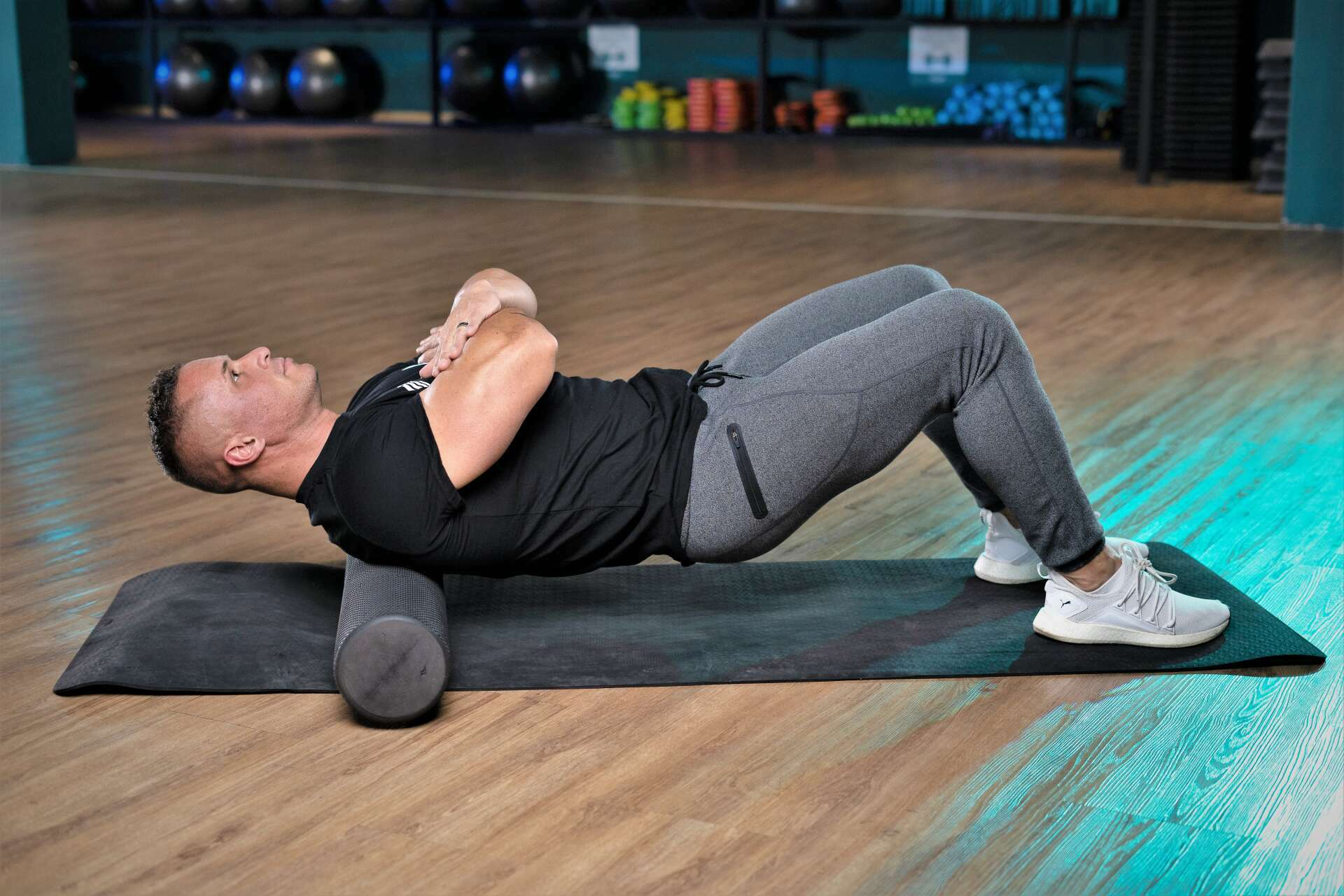 Trifocus Fitness Academy - foam rolling