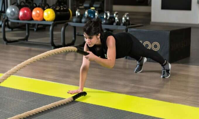 Trifocus Fitness Academy - battle ropes