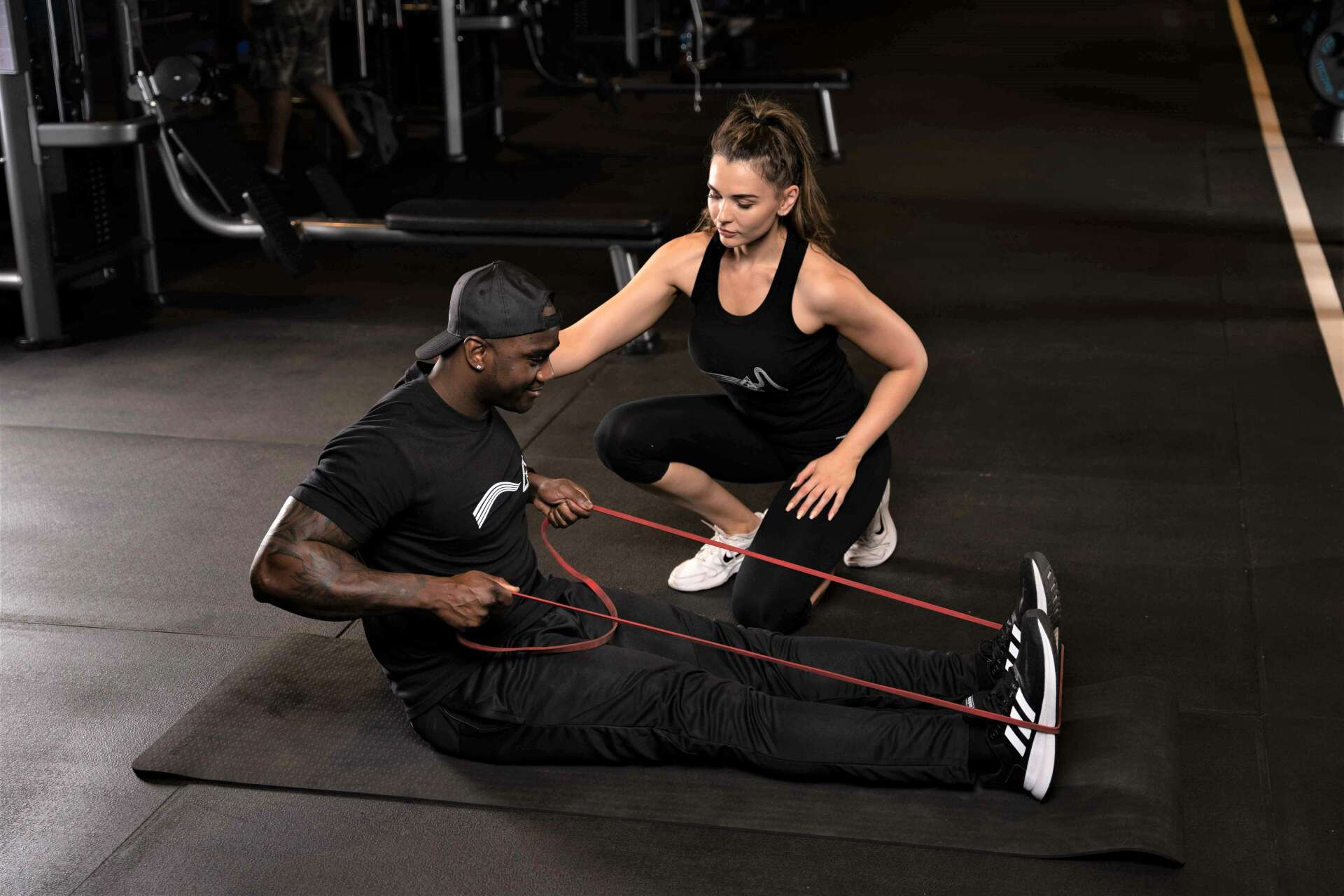 Trifocus Fitness Academy - resistance band training