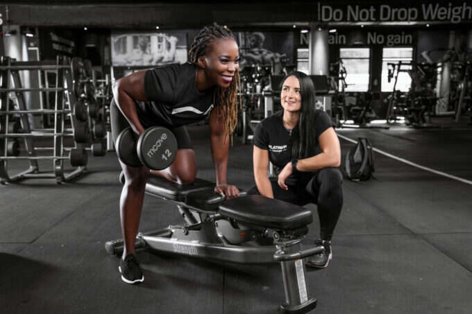 Trifocus Fitness Academy - weight training routine