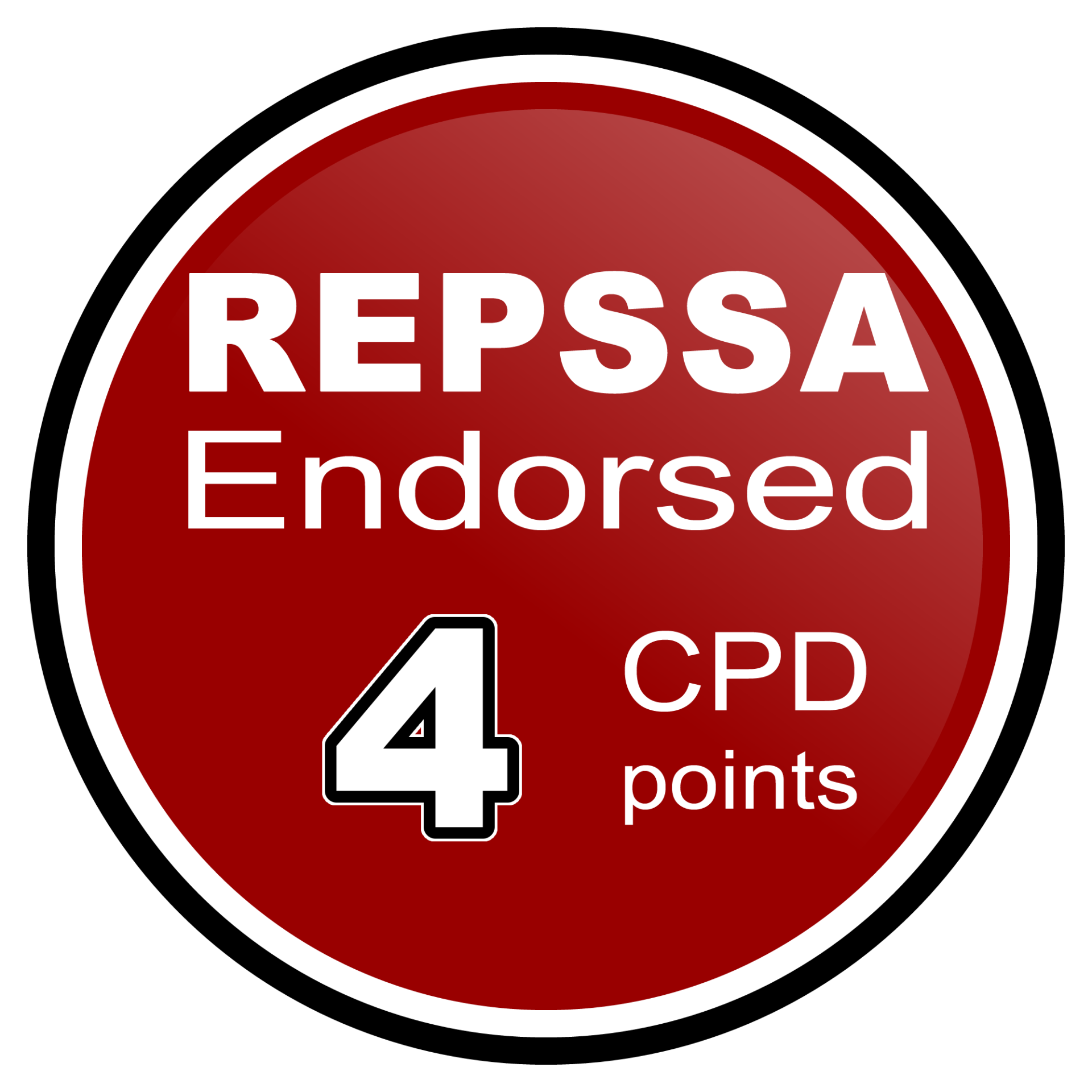 REPSSA 4 CPD points