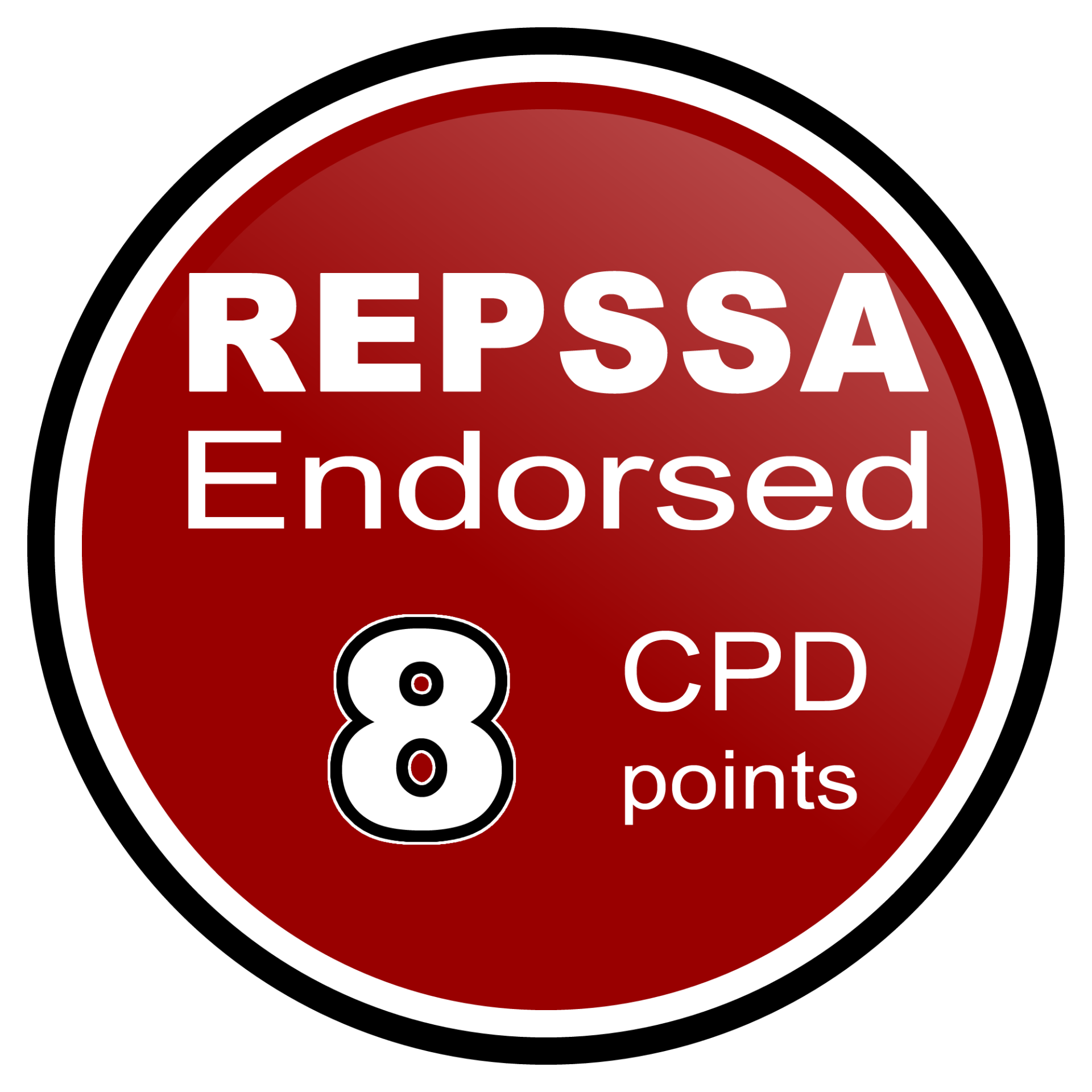 REPSSA 8 CPD points